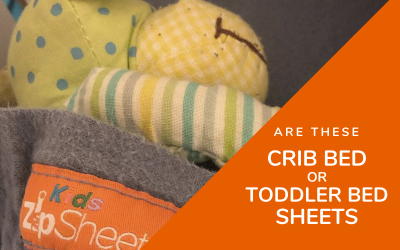 Are these Crib Sheets or Toddler Bed Sheets?