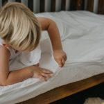 White Crib Size Zip Sheets