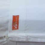 twin size single bed white zip sheets